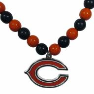 Chicago Bears Fan Bead Necklace
