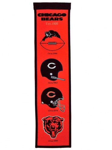 Chicago Bears Fan Favorite Banner
