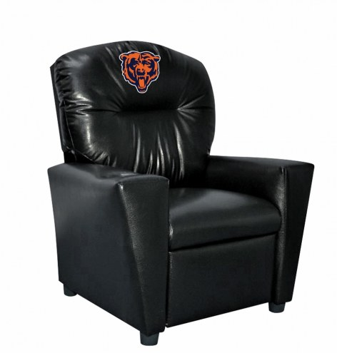 Chicago Bears Faux Leather Kid's Recliner