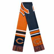 Chicago Bears Colorblock Big Logo Scarf