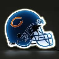 Chicago Bears Football Helmet LED Lamp