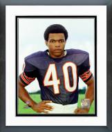 Chicago Bears Gale Sayers 1970 Posed Framed Photo