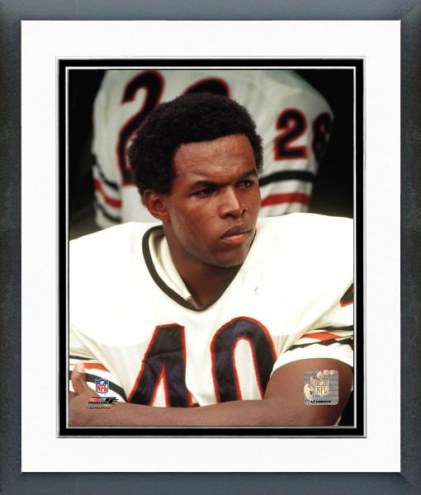 Chicago Bears Gale Sayers - Close up, sidelines Framed Photo