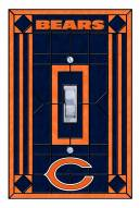 Chicago Bears Glass Single Light Switch Plate Cover