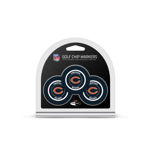 Chicago Bears Golf Chip Ball Markers