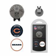 Chicago Bears Hat Clip & Marker Set