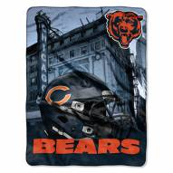 Chicago Bears Heritage Silk Touch Blanket