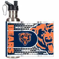 Chicago Bears Hi-Def Stainless Steel Water Bottle