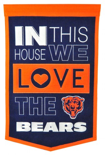Chicago Bears Home Banner