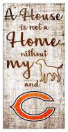 Chicago Bears House is Not a Home Sign