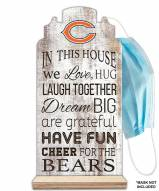 Chicago Bears In This House Mask Holder
