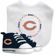 Chicago Bears Infant Bib & Shoes Gift Set