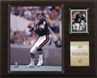 "Chicago Bears Jim McMahon 12 x 15"" Player Plaque"
