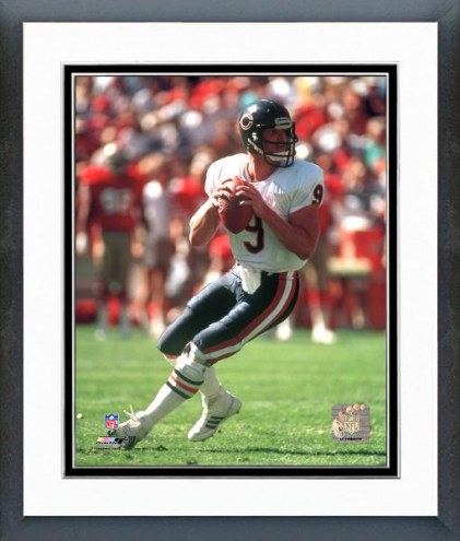 Chicago Bears Jim McMahon Action Framed Photo