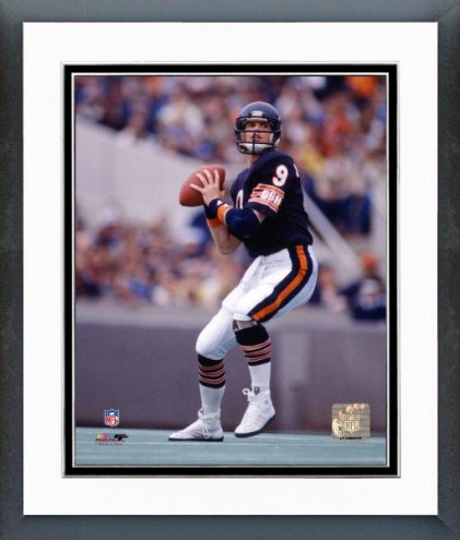 Chicago Bears Jim McMahon - Passing Action Framed Photo