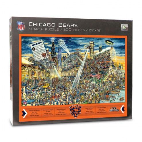 Chicago Bears Joe Journeyman Puzzle
