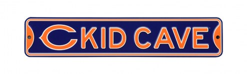 Chicago Bears Kid Cave Street Sign