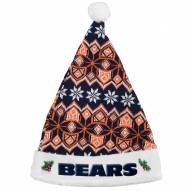 Chicago Bears Knit Santa Hat