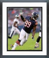 Chicago Bears Lamarr Houston Action Framed Photo