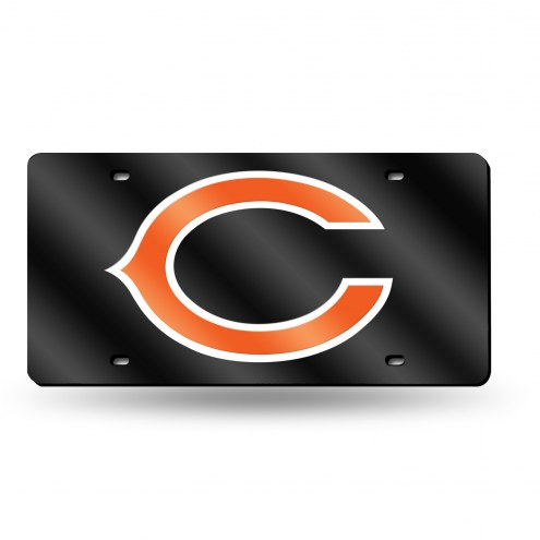 Chicago Bears Laser Cut License Plate