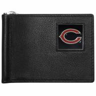 Chicago Bears Leather Bill Clip Wallet