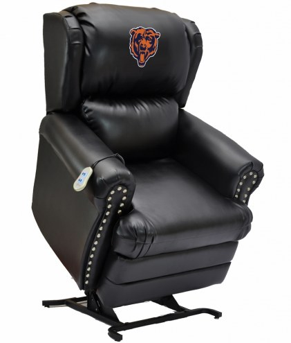 Chicago Bears Leather Coach Lift Recliner