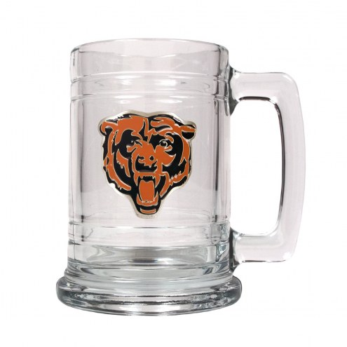 Chicago Bears Logo Glass Tankard - Set of 2