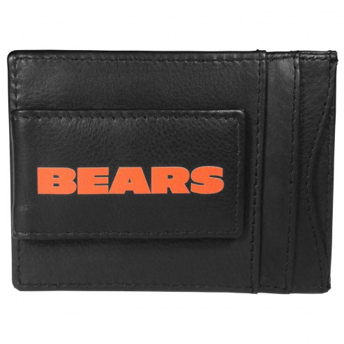Chicago Bears Logo Leather Cash and Cardholder
