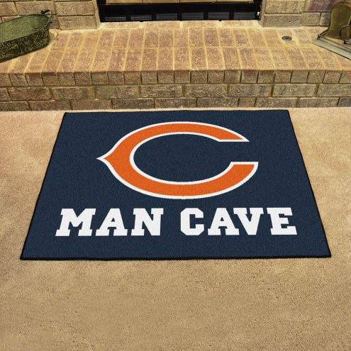 Chicago Bears Man Cave All-Star Rug