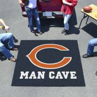 Chicago Bears Man Cave Tailgate Mat