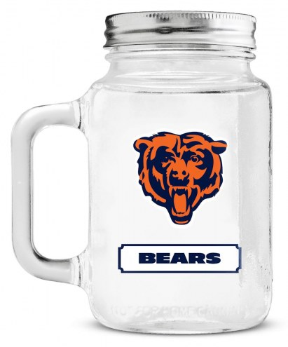 Chicago Bears Mason Glass Jar