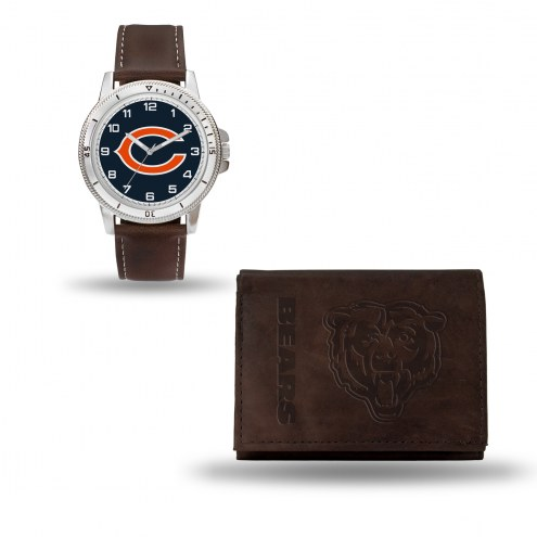 Chicago Bears Men's Niles Watch & Wallet Set