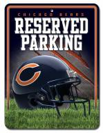 Chicago Bears Metal Parking Sign
