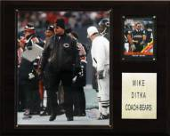 "Chicago Bears Mike Ditka 12 x 15"" Player Plaque"