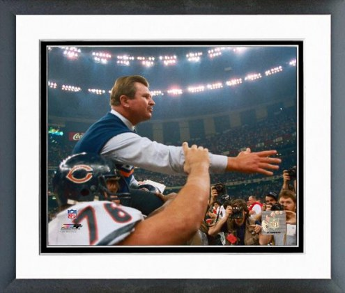 Chicago Bears Mike Ditka 1986 Framed Photo