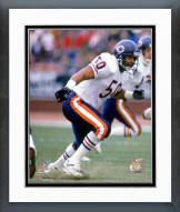 Chicago Bears Mike Singletary 1987 Action Framed Photo