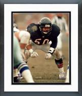 Chicago Bears Mike Singletary Defensive Stance Framed Photo