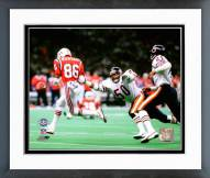 Chicago Bears Mike Singletary SuperBowl XX 1986 Action Framed Photo