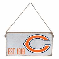 Chicago Bears Mini Plank