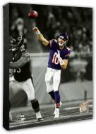 Chicago Bears Mitch Trubisky Spotlight Action Photo