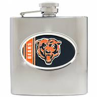Chicago Bears NFL 6 Oz. Stainless Steel Hip Flask