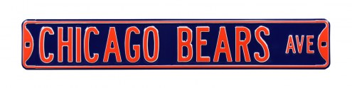 Chicago Bears NFL Authentic Street Sign