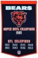 Winning Streak Chicago Bears NFL Dynasty Banner