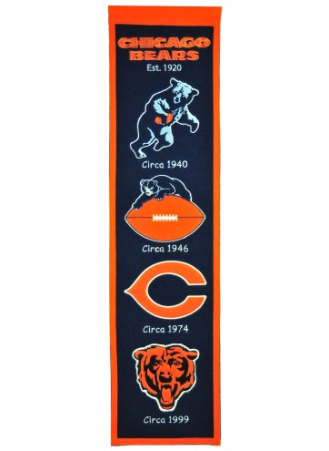 Chicago Bears NFL Heritage Banner