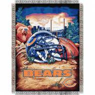 Chicago Bears NFL Woven Tapestry Throw