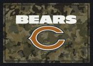Chicago Bears NFL Team Camo Area Rug