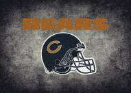 Chicago Bears NFL Team Distressed Area Rug