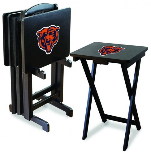 Chicago Bears NFL TV Trays - Set of 4