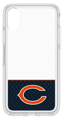 Chicago Bears OtterBox iPhone X Symmetry Clear Case