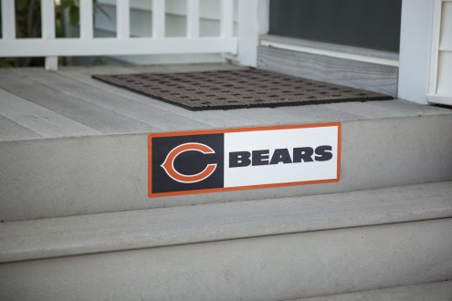 Chicago Bears Outdoor Step Graphic